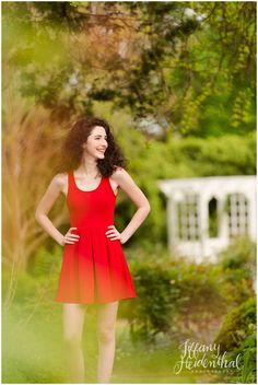 Outdoor, natural, fun senior portrait photography in Richmond, VA - Tiffany Heidenthal Photography