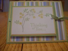 Softly Thinking of You by hollicefaith - Cards and Paper Crafts at Splitcoaststampers