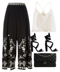 """""""Untitled #9649"""" by katgorostiza ❤ liked on Polyvore featuring Temperley London and Chanel"""
