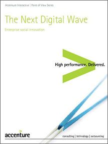 The Next Digital Wave: Using Social Media Optimization to Harness Innovation - Accenture Accenture Digital, Digital Wave, The Next, Innovation, Insight, Waves, Social Media, Ocean Waves, Social Networks