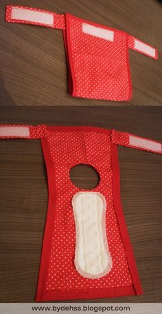 Diy doggie diaper                                                                                                                                                                                 More