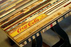 Coke table.