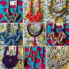 Os novos colares já disponíveis! Confira esses e muitos outros no álbum Pronta Entrega do nosso Facebook