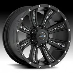 Black and camo rims I want for my truck :)