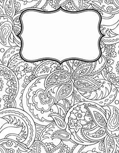 55 ideas for book cover printable school coloring pages School Coloring Pages, Coloring Pages To Print, Adult Coloring Pages, Coloring Sheets, Coloring Books, School Binder Covers, School Subjects, Notebook Covers, Good Notes