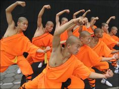 The creators of the games might have been thinking of the Shaolin monks, Chinese Buddhists who practice martial arts. Description from vovatia.wordpress.com. I searched for this on bing.com/images