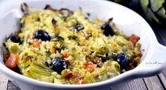 Come preparare i carciofi al gratin, un piatto semplice e veloce da mangiare come antipasto o come contorno gustoso e light.