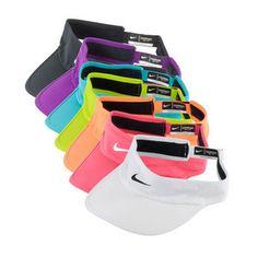 Best tennis visor *ever* - The Nike Women's Featherlite 2.0 Tennis Visor. Get the updated version here >> http://www.tennisexpress.com/nike-womens-featherlight-20-tennis-visor-42824 #TennisExpress