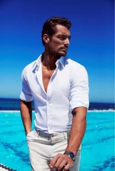 David Gandy reckons anyone can have his body - with just one small condition - Mirror Online David Gandy Style, David James Gandy, David Gandy Body, Famous Male Models, Stylish Men, Men Casual, Androgynous Models, Gorgeous Men, Sexy Men