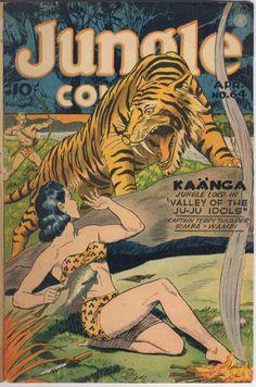 Jungle Comics #64   comic books comics