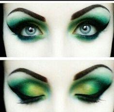 Green #greeneyeshadows