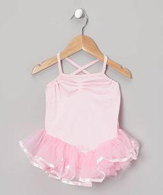 Love this Pink Ballerina Tutu Leotard - Toddler & Girls by Story Book Wishes on #zulily! #zulilyfinds