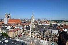Grüß Gottin München, einer der schönsten und angenehmsten Städte der Welt. Ich hatte das Glück, ein paar Jahre in der bayerischen Hauptstadt leben zu dürfen. Wer nicht ganz so viel Zeit mitbringt,... Bavaria, Munich, Paris Skyline, Germany, Highlights, Travel, Pictures, Beautiful Life, Viajes