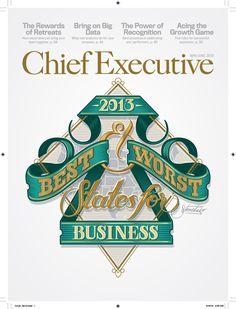 Chief Executive on Behance