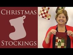 Quilted Christmas Stockings: An Easy Quilting Project with Jenny of Missouri Star Quilt Co - YouTube