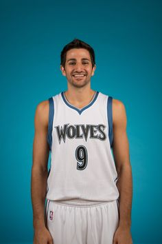 Ricky Rubio poses for his first photo of the 2014-2015 season!