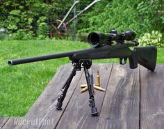 Remington 700 7MM... Hunted with this for over 15 years... Loved this gun