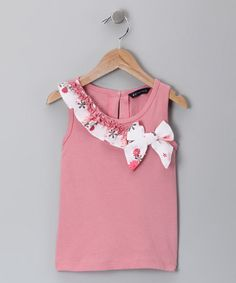 Take a look at this Pink Walda Tank - Toddler & Girls by Periwinkle on #zulily today!