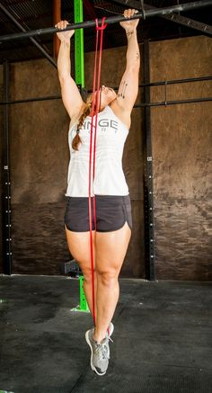 """""""I use my bands for working on high rep strength training for pull-ups and dips on my rings. These quickly helped me gain enough strength to do pull-ups unassisted."""""""
