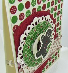 How to make a spinner card Video tutorial using the Scentsational Season Bundle Stampin' Up!  http://www.catherinepooler.com/2012/10/nathans-spinning-gingerbread-with-the-scentsational-seasons-stamp-set/