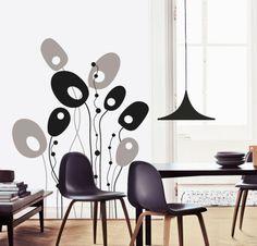 MOON http://www.myvinilo.com/vinilos-pop/vinilo-arbol-abstracto.html Vinilos decorativos, hogar, decoración, interiores, pared, diseño, grafica, wall decals, stickers, decoration, design, graphics, arte, art, luna, arbol, tree, abstract.