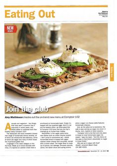 Our new signature dish - the Avo Club in Time Out Dubai Nut Cheese, New Menu, Dubai, Plates, Homemade, Club, Vegan, Dishes, Ethnic Recipes