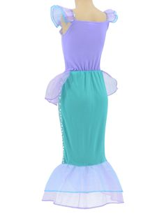 Little Mermaid Princess Ariel Costume for Girls Dress Up Party with Crown Mace M110cm ** Find out more reviews of the product by seeing the link on the image. (This is an affiliate link). Ariel Costumes, Cool Costumes, Girls Dress Up, Dress Up Outfits, Children Costumes, Mermaid Princess, Costume Dress, The Little Mermaid, Daughter