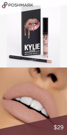 LIBRA Kylie Lip Kit LIBRA Kylie Lip Kit Kylie Cosmetics Makeup Lipstick - Care - Skin care , beauty ideas and skin care tips Kylie Lips, Kylie Lip Kit, Natural Eye Makeup, Natural Lashes, Makeup Lipstick, Makeup Cosmetics, Kylie Jenner Makeup, Kylie Cosmetic, Best Foundation