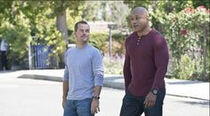 Agents Sam Hanna and Callen have worked together for years on the hit show NCIS: Los Angeles. They're trying to save the world one bad guy at a time, they'