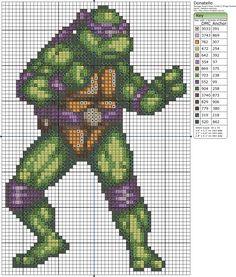 TMNT Donatello pattern