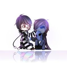 Eyeless Jack and Laughing Jack
