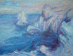 Artwork >> Lyuba Zahova >> Blue coast