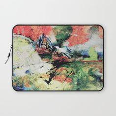 Paint Texture1 Laptop Sleeve