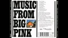 "Wikipedia - "" Music from Big Pink is the 1968 debut album by rock band The Band. It features their best-known song, 'The Weight'. Music From Big Pink, Pink Music, All Band, Rock And Roll Bands, Cd Cover, Album Covers, Cover Art, Pink Cd, Robbie Robertson"