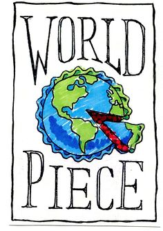 A global pie-making adventure to promote cultural tolerance. June to Sept. 2015. Follow me around the world this summer on my blog!