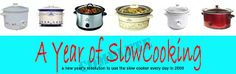 The original Year of Slow Cooking site (CrockPot 365) by slow-cooking expert Stephanie O'Dea