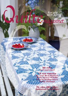 QM 4-2014 Quilts, Table Decorations, Stars, Furniture, Home Decor, Decoration Home, Room Decor, Quilt Sets, Sterne