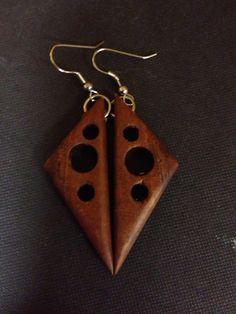 Kamani Wood earrings by CoastalEco on Etsy, $20.00