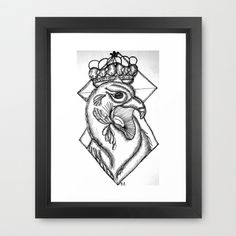 Corona Framed Art Print by Brave_Corona - $34.00