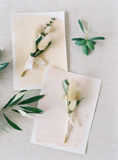 Rebecca Grace of Natural Art Flowers crafted the boutonnieres for this wedding in Australia using olive leaf and pussy willow. Black Tie Wedding, Floral Wedding, Wedding Day, Wedding Flowers, Greek Wedding, Wedding Paper, Wedding Dreams, Wedding Ceremony, Rustic Wedding