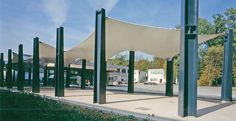 Canopies and shade structures - Serge Ferrari