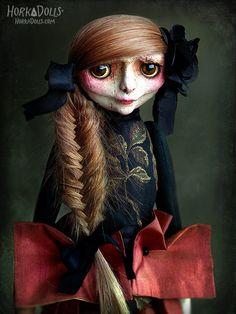 art doll  ooak  ROSI by HorkaDolls on Etsy, €480.00