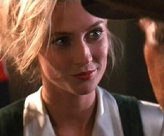 Still of Alison Doody (Dr. Elsa Schneider) in Indiana Jones and the Last Crusade (1989) © 1989 - Lucasfilm, Ltd. Description from pinterest.com. I searched for this on bing.com/images
