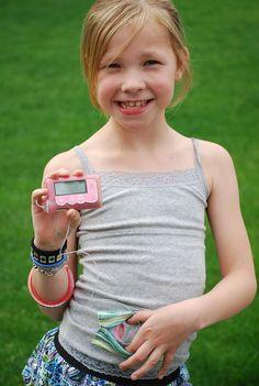 Ähnliche Artikel wie Insulin-Pumpe Pocket Tanktop - grau-Tank mit Multi Color Stripe Pocket auf Etsy