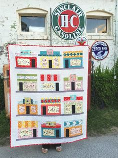 Fabric Mutt: Storefronts Quilt Pattern (Window Shopping at the ...