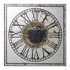 Mix-and-match furniture & decor Big Clocks, Large Clock, Furniture Decor, Printed, Glass, Wall, Wall Clocks, Drinkware, Corning Glass