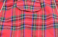 Closeout - Lot of 5 - Doggie Design Alpine Flannel Plaid Jacket Vest - Blue Plaid