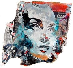 Lazarides // Vhils // Visual Consumption 1 2010