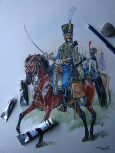 5th Hussars, by Patrice Courcelle