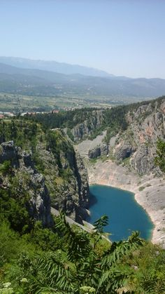 Modro jezero, Imotski